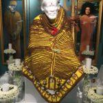 Baba in Rudraksha Bead Robe